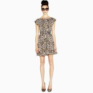 Alice + Olivia Leopard Print Shellie Dress